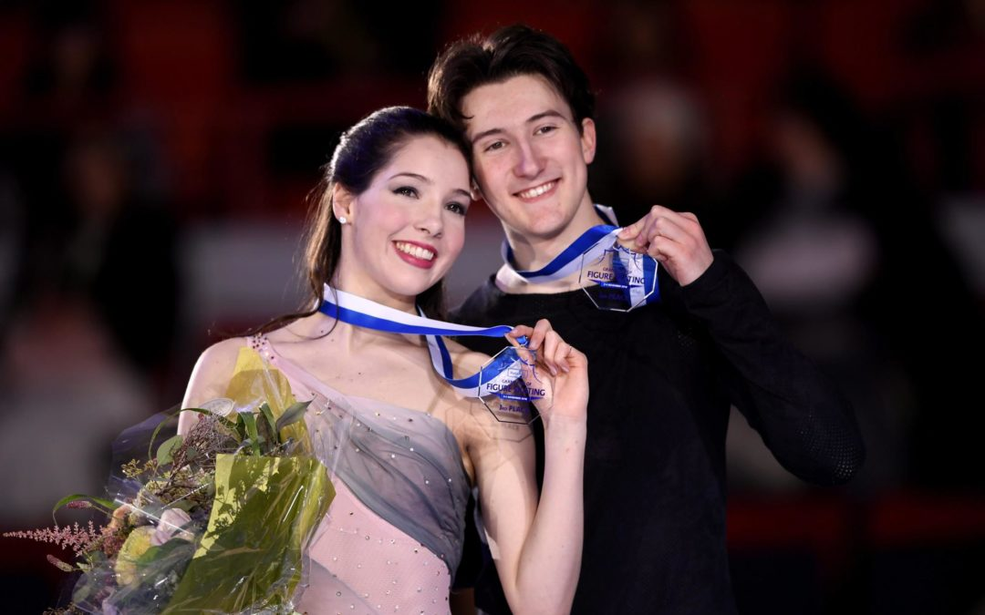 Love for Skating Brings Lorraine McNamara and Quinn Carpenter Success